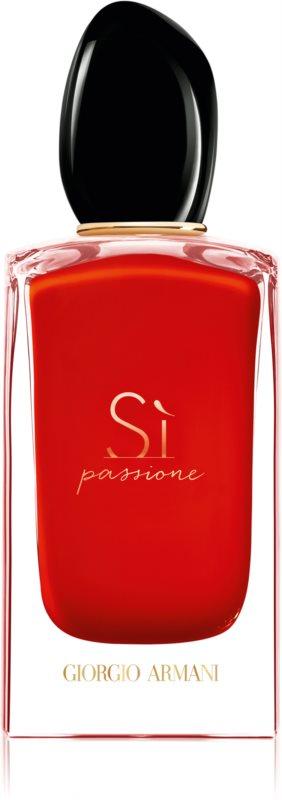 Armani Sì  Passione eau de parfum pour femme 100 ml