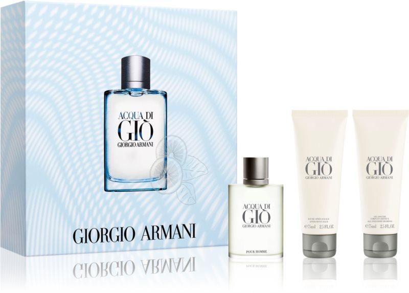 Armani Acqua di Giò Pour Homme confezione regalo XXIV.