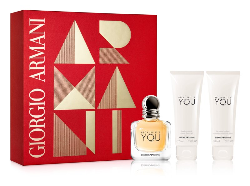 Armani Emporio Because It's You Gift Set II.