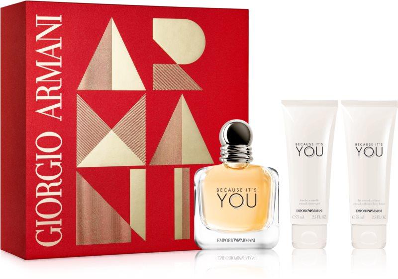 Armani Emporio Because It's You ajándékszett I.