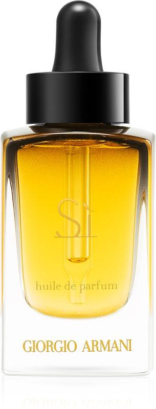 Armani Sì huile parfumée pour femme 30 ml