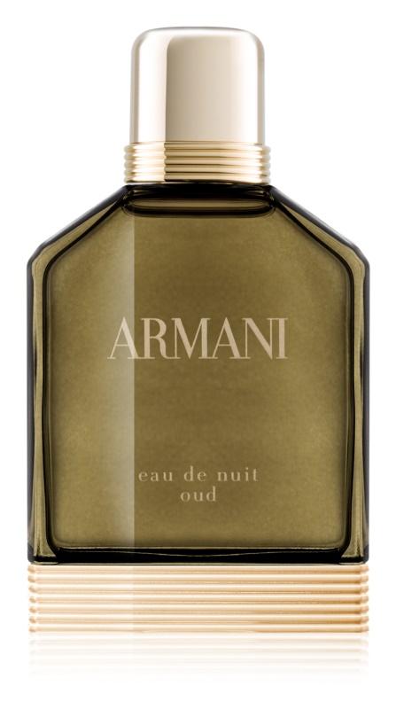 Armani Eau De Nuit Oud Eau de Parfum voor Mannen 50 ml