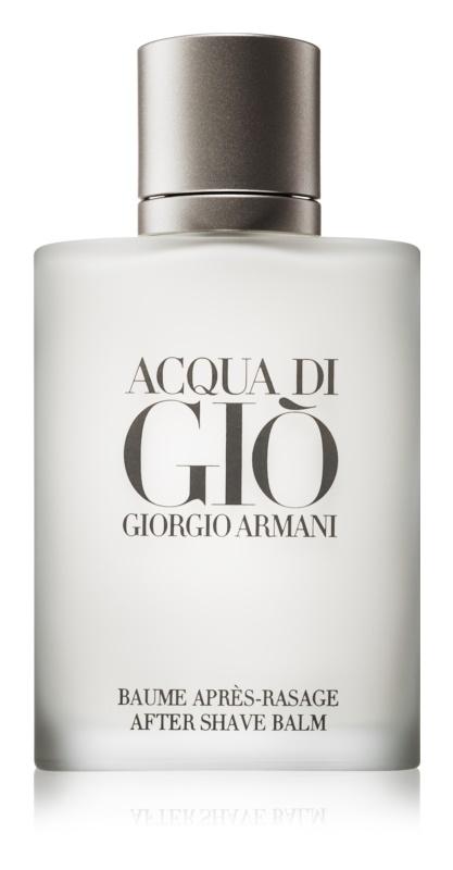 Armani Acqua di Giò Pour Homme Aftershave Balsem  voor Mannen 100 ml
