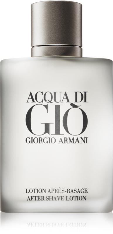 Armani Acqua di Giò Pour Homme lotion après-rasage pour homme 100 ml