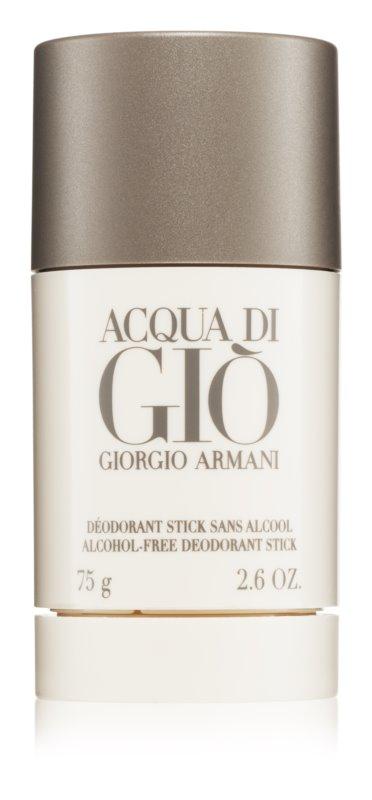 Armani Acqua di Giò Pour Homme dédorant stick pour homme 75 ml