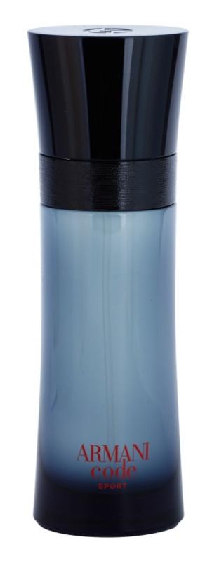 Armani Code Sport eau de toilette férfiaknak 75 ml