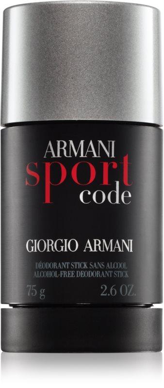 Armani Code Sport deostick pentru bărbați 75 ml