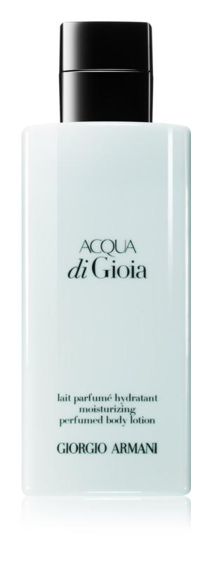 Armani Acqua di Gioia mleczko do ciała dla kobiet 200 ml