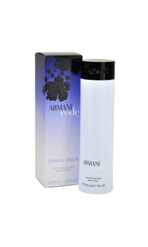 Armani Code telové mlieko pre ženy 200 ml