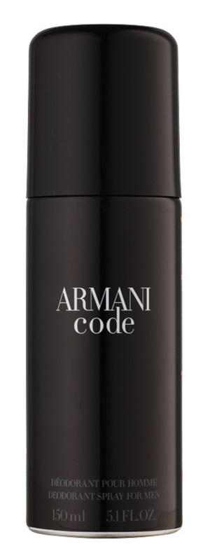 Armani Code Deo Spray for Men 150 ml