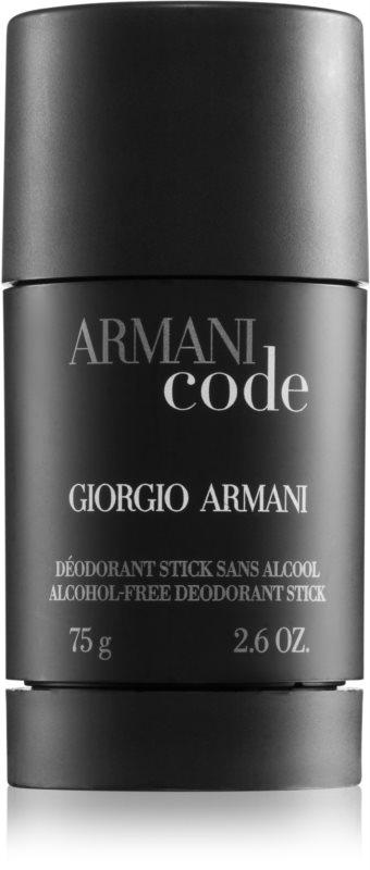 Armani Code dédorant stick pour homme 75 g