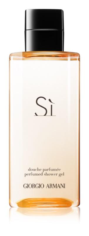 Armani Sì sprchový gél pre ženy 200 ml