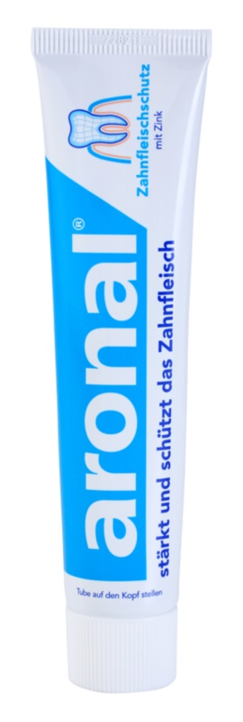 Aronal Dental Care pasta de dientes para proteger dientes y encías