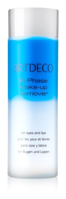 Artdeco Bi-Phase Make-up Remover două faze pentru îndepărtarea machiajului de pe ochi și buze