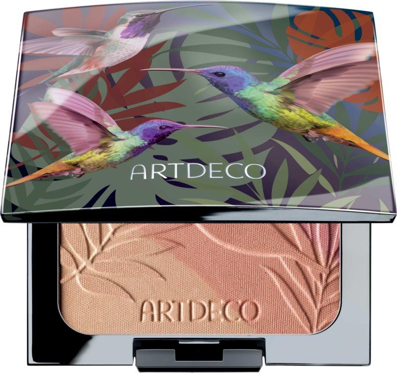 Artdeco Beauty of Nature trojbarevná tvářenka