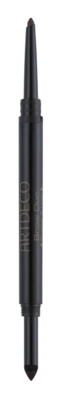 Artdeco Scandalous Eyes Brow Duo creion pentru sprâncene pulbere 2 in 1