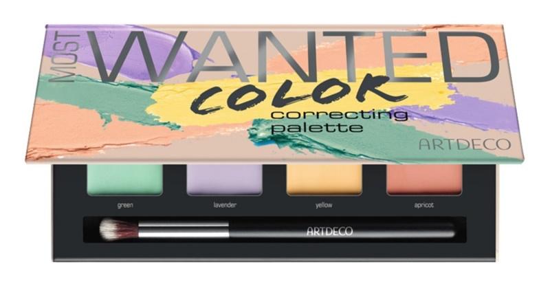 Artdeco Cover & Correct Most Wanted paleta korektorów przeciw niedoskonałościom skóry