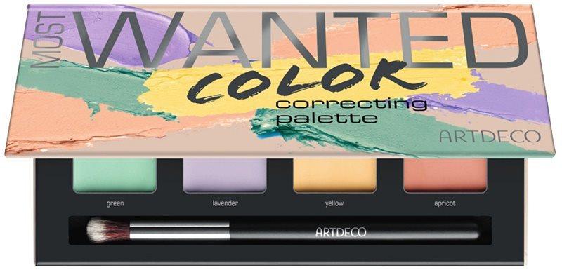 Artdeco Cover & Correct Most Wanted палетка коректорів проти недосконалостей шкіри