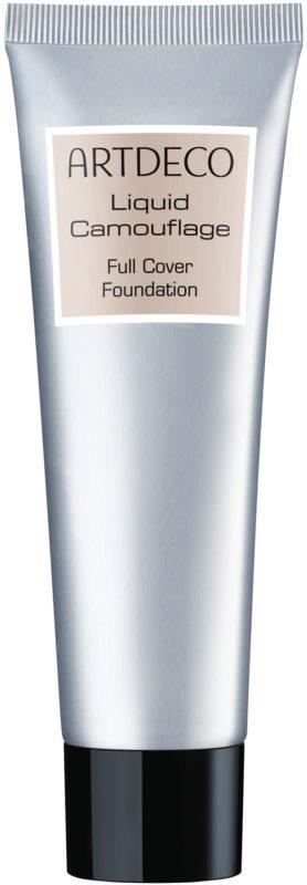 Artdeco Liquid Camouflage Full Cover Foundation Make up mit extremer Deckkraft für alle Hauttypen