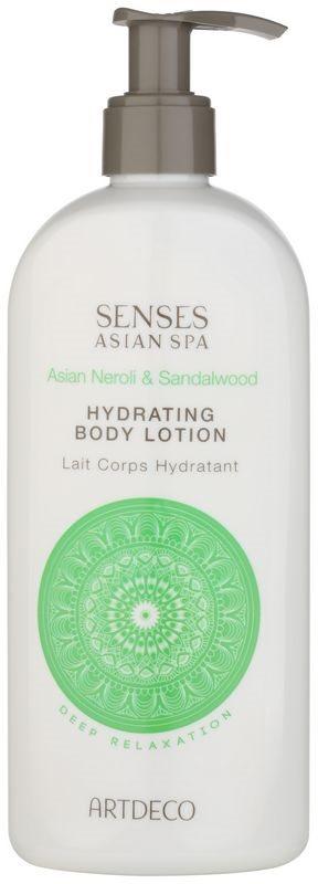 Artdeco Asian Spa Deep Relaxation testápoló tej hidratáló hatással
