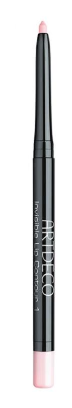 Artdeco Invisible Lip Contour прозорий олівець для губ з точилкою