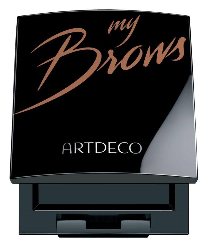 Artdeco Let's Talk About Brows kazeta na dekoratívnu kozmetiku