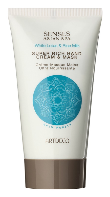 Artdeco Asian Spa Skin Purity globinsko regeneracijska krema in maska za roke
