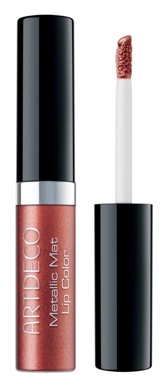 Artdeco Metallic Mat Lip Color rossetto liquido lunga tenuta effetto opaco