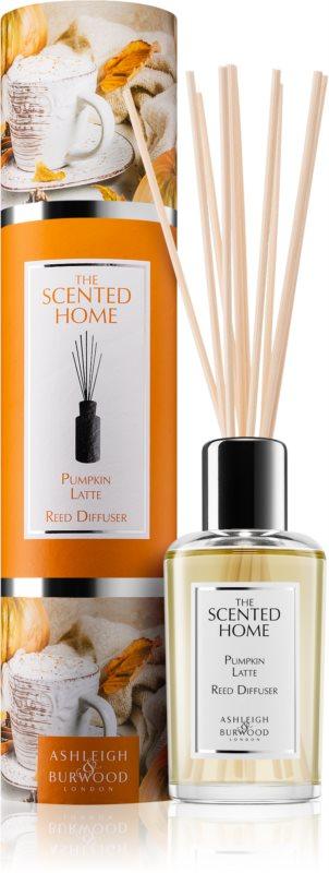 Ashleigh & Burwood London The Scented Home Pumpkin Latte diffuseur d'huiles essentielles avec recharge 150 ml