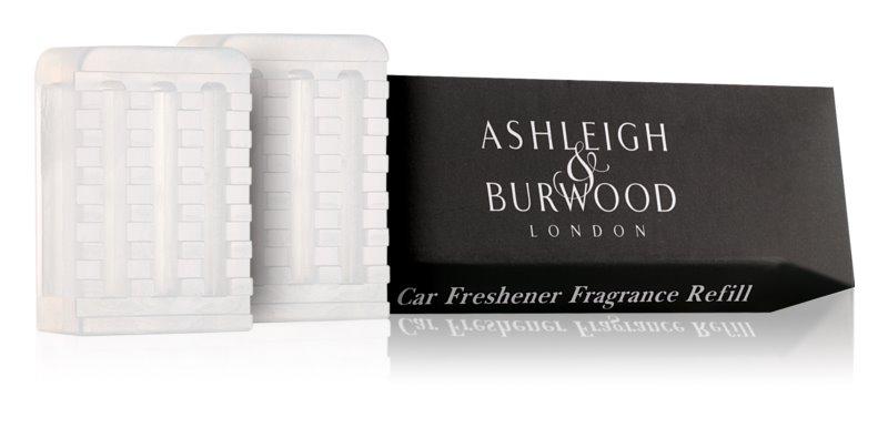 Ashleigh & Burwood London Car Coconut & Lychee Άρωμα για αυτοκίνητο 2 x 5 γρ ανταλλακτική γέμιση