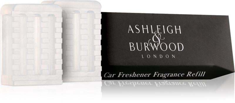 Ashleigh & Burwood London Car Coconut & Lychee Auto luchtverfrisser  2 x 5 gr Vervangende Vulling