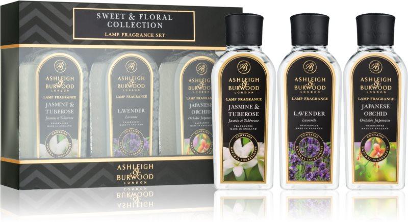 Ashleigh & Burwood London Lamp Fragrance Sweet & Floral Geschenkset III.