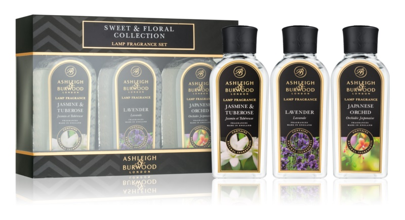 Ashleigh & Burwood London Lamp Fragrance Sweet & Floral Gift Set  III.