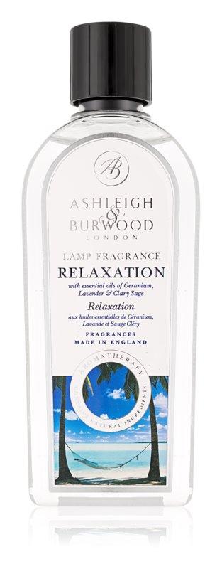 Ashleigh & Burwood London Lamp Fragrance Relaxation nadomestno polnilo za katalitično svetilko 500 ml