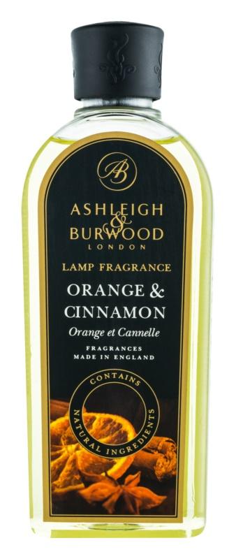 Ashleigh & Burwood London Lamp Fragrance Orange & Cinnamon rezervă lichidă pentru lampa catalitică  500 ml