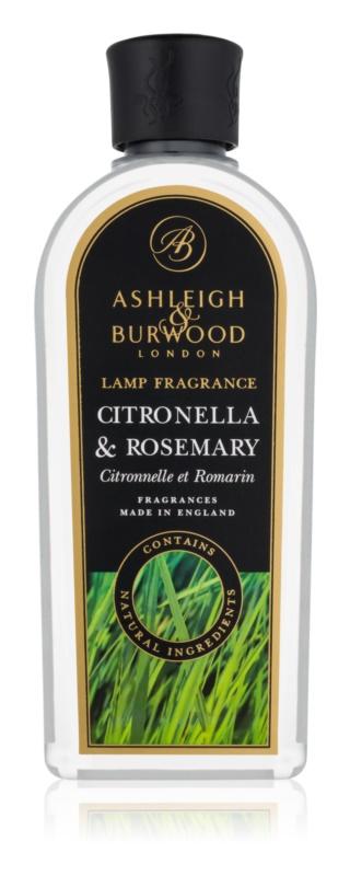 Ashleigh & Burwood London Lamp Fragrance Citronella & Rosemary katalitikus lámpa utántöltő 500 ml