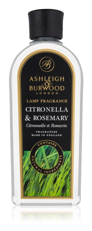 Ashleigh & Burwood London Lamp Fragrance Citronella & Rosemary recharge pour lampe catalytique 500 ml