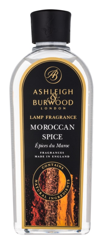 Ashleigh & Burwood London Lamp Fragrance Moroccan Spice recharge pour lampe catalytique 500 ml