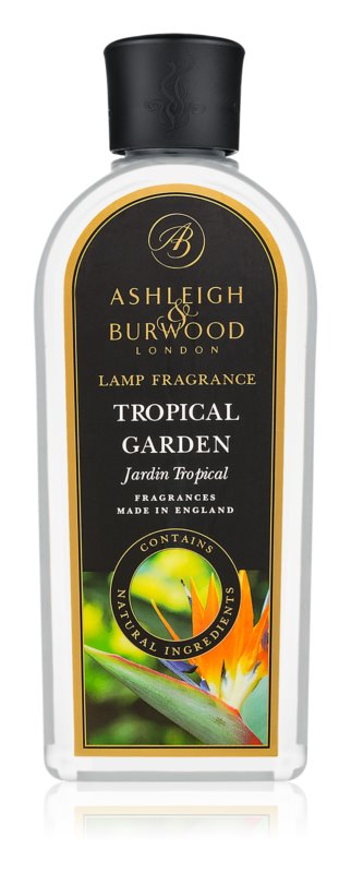 Ashleigh & Burwood London Lamp Fragrance Tropical Garden nadomestno polnilo za katalitično svetilko 500 ml