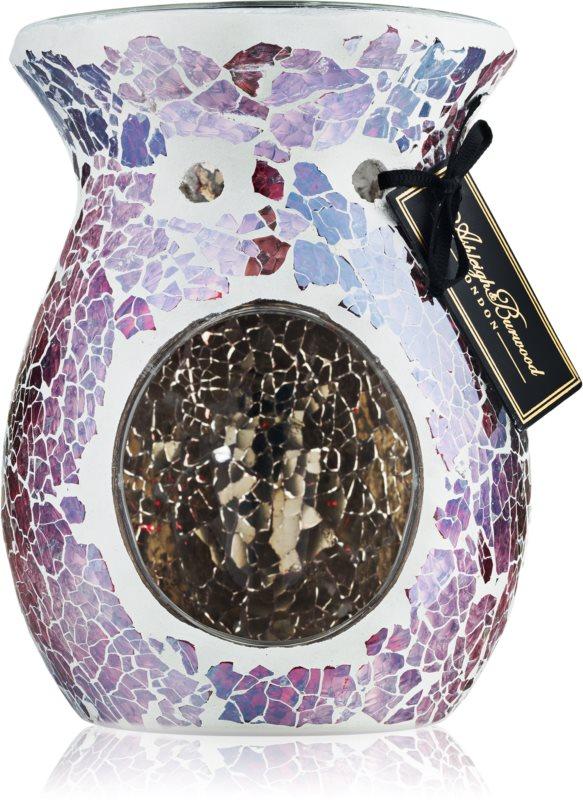 Ashleigh & Burwood London Shimmering Rose lampe aromatique en verre