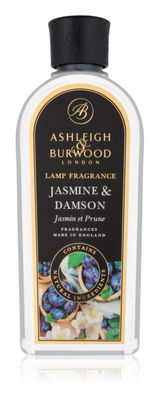 Ashleigh & Burwood London Lamp Fragrance Jasmine & Damson rezervă lichidă pentru lampa catalitică  500 ml