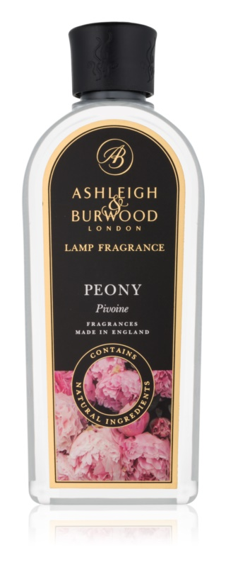 Ashleigh & Burwood London Lamp Fragrance Peony Ανταλλακτικό καταλυτικού λαμπτήρα 500 μλ