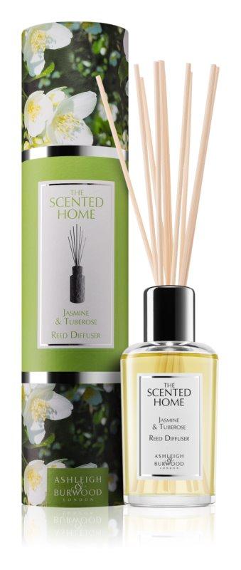 Ashleigh & Burwood London The Scented Home Jasmine & Tuberose diffuseur d'huiles essentielles avec recharge 150 ml