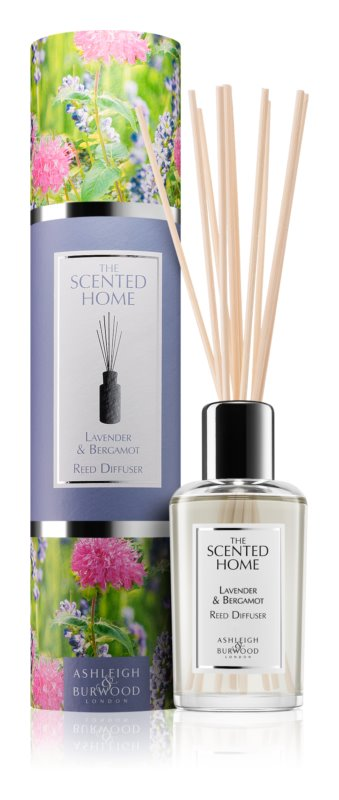 Ashleigh & Burwood London The Scented Home Lavender & Bergamot Aroma Diffuser With Filling 150 ml