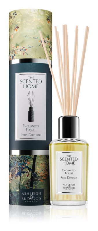 Ashleigh & Burwood London The Scented Home Enchanted Forest Aroma Diffuser met vulling 150 ml