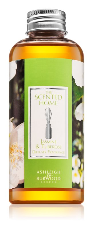 Ashleigh & Burwood London The Scented Home Jasmine & Tuberose Aroma-diffuser navulling 150 ml