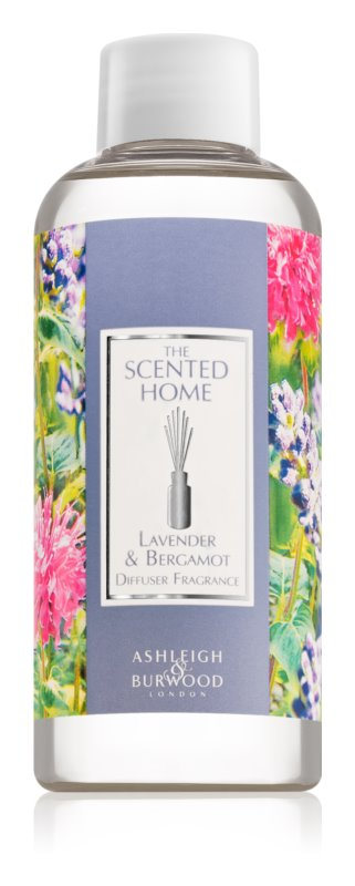 Ashleigh & Burwood London The Scented Home Lavender & Bergamot nadomestno polnilo za aroma difuzor 150 ml