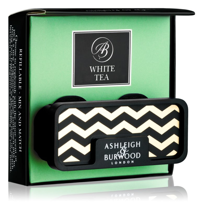 Ashleigh & Burwood London Car White Tea Auto luchtverfrisser    Clip