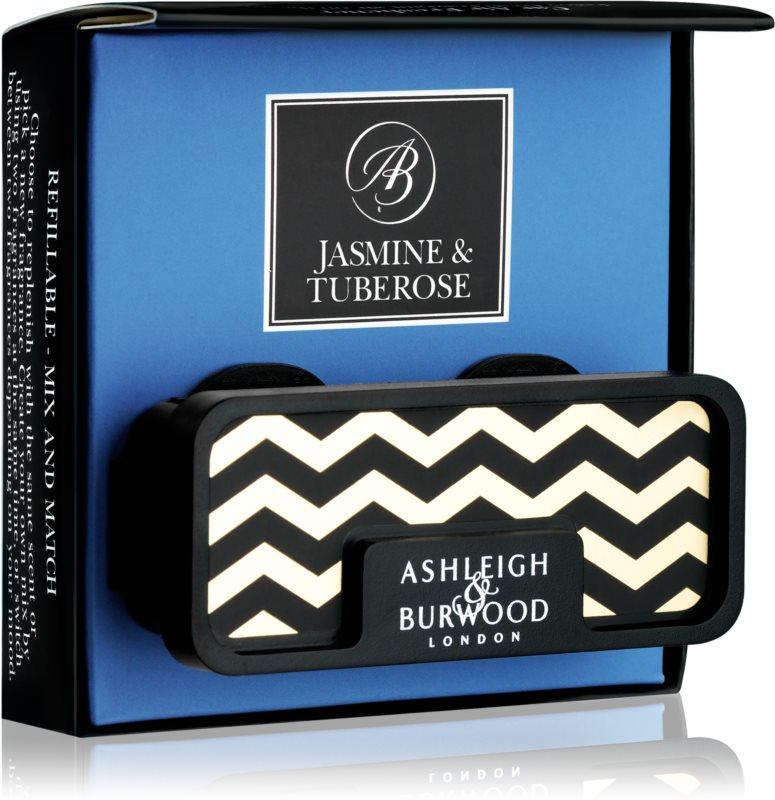 Ashleigh & Burwood London Car Jasmine & Tuberose Car Air Freshener   Clip