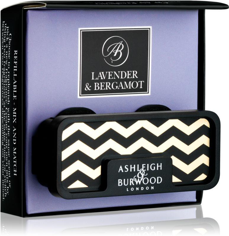 Ashleigh & Burwood London Car Lavender & Bergamot désodorisant voiture   clip